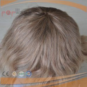 Full Lace Human Hair Cheap Wholesale Price Mens Hair Piece Toupee pictures & photos
