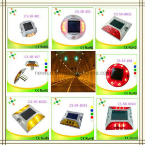 Factory Wholesale IP68 Strobe Plastic Solar LED Cat Eyes Road Stud pictures & photos