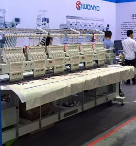 Wonyo 6 Head Barudan Embroidery Machine in China for Africa pictures & photos