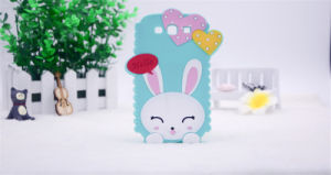 Heart Cartoon Rabbit DOT Silicone Mobile Phone Case for Huawei P8 P9 P8lite (XSDW-015) pictures & photos