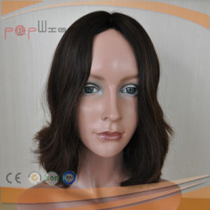 Top Grade Human Hair Wave Silk Top Omber Color Women Wig pictures & photos