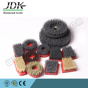 Nylon Round Abrasive Brush/Antique Brush for Stone Processing pictures & photos