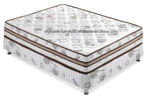 Hydrophilic Cotton Pillow Top Pocket Spring Mattress pictures & photos