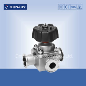 T Type Diaphragm Valve with Plastic Handle pictures & photos