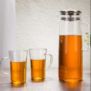 1200ml High Borocilicate Glass Water Pot Glass Pitcher pictures & photos