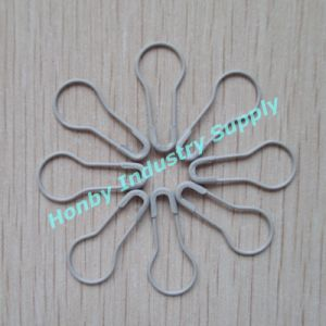 Classic Grey Pear Safety Hang Tag Loop Pins (P160118A) pictures & photos