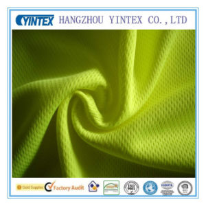 Polyester Weft-Knitted Bird Eye Fabric pictures & photos