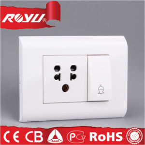 6 16 a Combined Switched Socket with Isi Approval pictures & photos