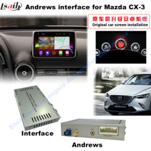 Hot Sale Mazda Cx-3 Android Car Video Interface 2016 with WiFi USB pictures & photos