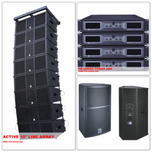 Dual 12 Inch Powered Line Array Active Sound System W-210bp pictures & photos