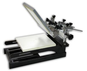 Zxspe One Color One Station Screen Printing Machine pictures & photos