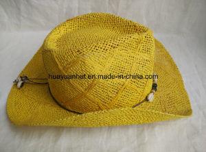 100% Paper Toyo Cowboy Hat Shapeable Brim Hat pictures & photos