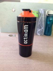 700ml+200ml Single-Wall 304 Stainless Steel Custom Protein Shaker Bottles