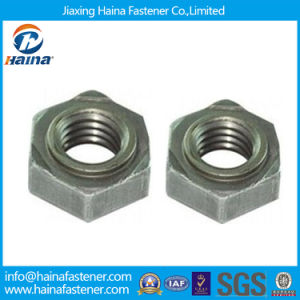 Carbon Steel Hex Weld Nuts, Hexagon Welded Nuts pictures & photos