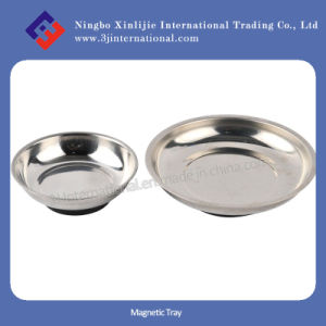 Stainless Steel Magnetic Parts Tray/Magnetic Bowl for Workshop
