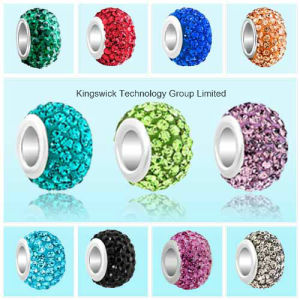 Cheap Wholesale Crystal Shamballa Bead pictures & photos