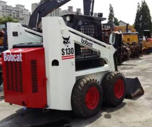 Used Original Bobcat S130 Skidloader