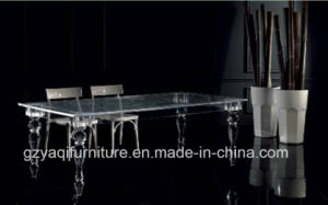 High Quality Clear Acrylic Table Furniture Sets for Dining Room
