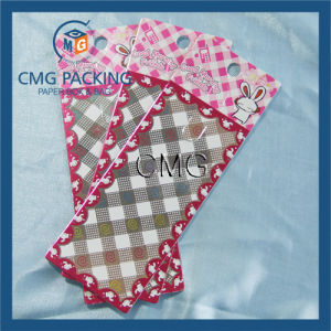 Stripe Printing Key Chain Display Card (CMG-057) pictures & photos