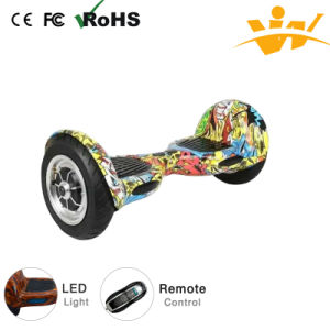 Two Wheel 10 Inches Smart Balance Scooter Electric Scooter Hover Board pictures & photos