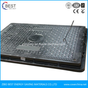 En124 B125 China Supplier Plastic Composite Manhole Cover Size pictures & photos