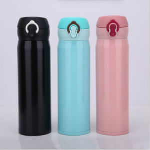 500ml Portable 18/8 Double Stainless Steel Coffee Mug (DC-HL3-500) pictures & photos