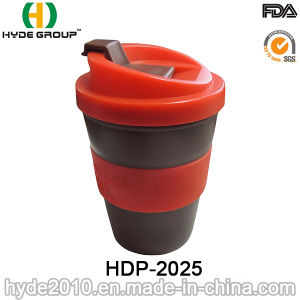 High Quality 8oz Plastic Mug for Coffee with Sleeve (HDP-2025) pictures & photos