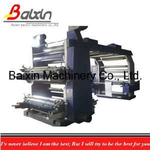 Automatic Flexographic PE/PP Bag Printing Machine 6 Colors Ce pictures & photos