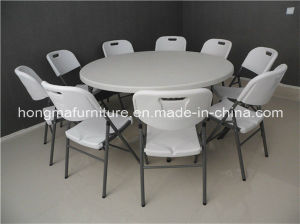 5ft Fashionable Folding Round Table for Hotel Use