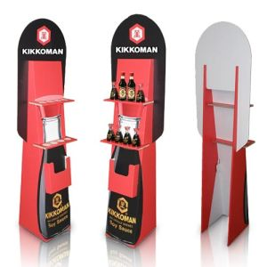 Pop Advertising Cardboard Display, Store Paper Display Stand Rack pictures & photos