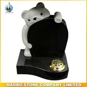 UK Style Teddy Bear Granite Memorials Headstone for Funeral pictures & photos