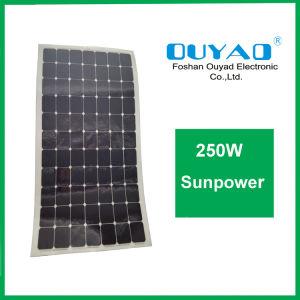 Semi Flexible Sunpower Solar Panel 250W Flexible Sunpower Solar Cell pictures & photos