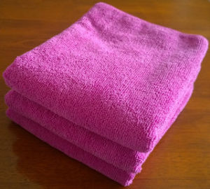 Good Absorption Microfiber Cleaning Wipes Towels pictures & photos