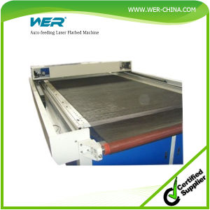 High Quality Auto-Feeding Laser Flatbed Machine pictures & photos