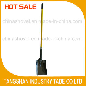 Hot Sale Long Fiberglass Handle Steel Shovel pictures & photos