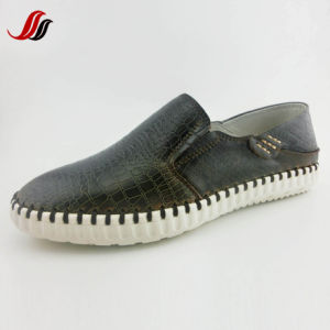 High Quality Men′s Slip-on Leather Shoes Loafer Shoes (LZ10) pictures & photos