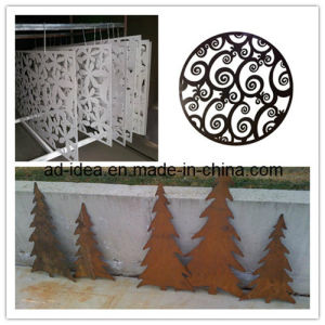 Laser Cut Garden Screen/Decorative Laser Cut Metal Screens (GAR-004) pictures & photos
