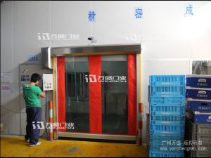 Made in China High Quality Transparent Rolling Doors