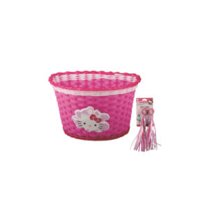 Hellokitty Bicycle Front Basket for Kids Bike (HBK-174) pictures & photos