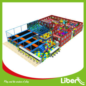 Various Style Customized Interior Trampoline Playground for Sale pictures & photos