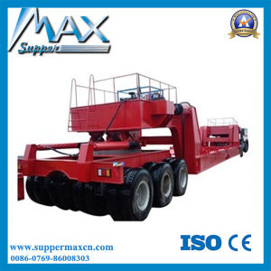 Tri- Axles 100 Ton Low Bed Semi Trailer pictures & photos