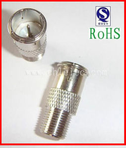 Wire Electrical Terminal Coaxial Cabletelecom Radios Broad Cast Circular 80317m F Connector pictures & photos