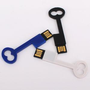 Cheap Key Shape Plastic USB Flash Drive (UL-P015-01) pictures & photos