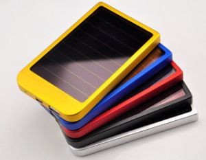 Christmas Gift 2200mAh Solar Power Bank for Cellphone Convenient