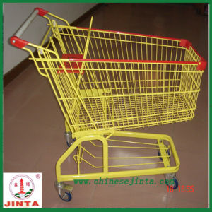 American Style Supermarket Shopping Cart /Retail Trolley (JT-EC09) pictures & photos