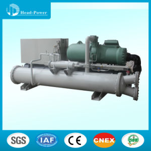 50~55degree Hot Water Water Source Screw Water Chiller pictures & photos