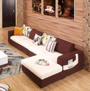 2016 Latest New Design Modern Simple Wooden Sofa Set Design pictures & photos