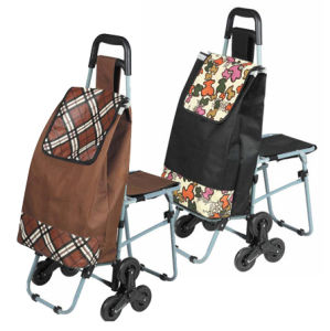 Shopping Trolley Bag with Seat (SP-551) pictures & photos