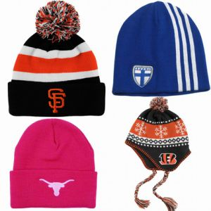 Winter Fashion Promotional Acrylic Knitted Cap pictures & photos