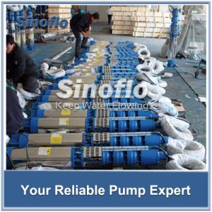 Borehole Submersible Turbine Pump with Stainless Steel Material pictures & photos